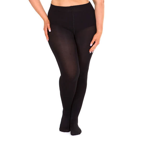 Opaque 100 denier full tights black Sonsee