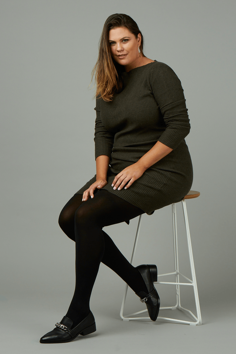 Toulouse by Cette, opaque tights plus size for women | The