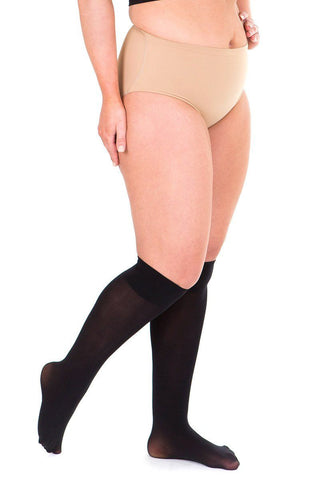 Sheer 40 Denier Knee Highs black