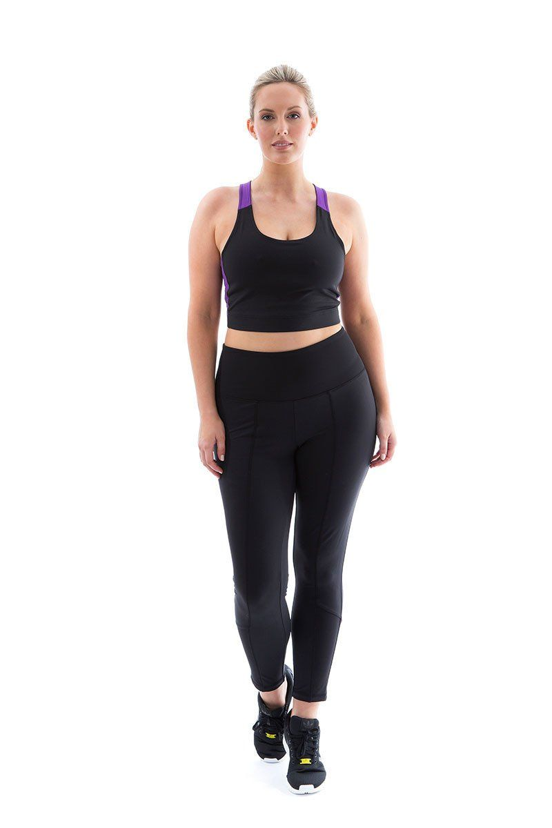 Always Moving Legging black always moving legging front