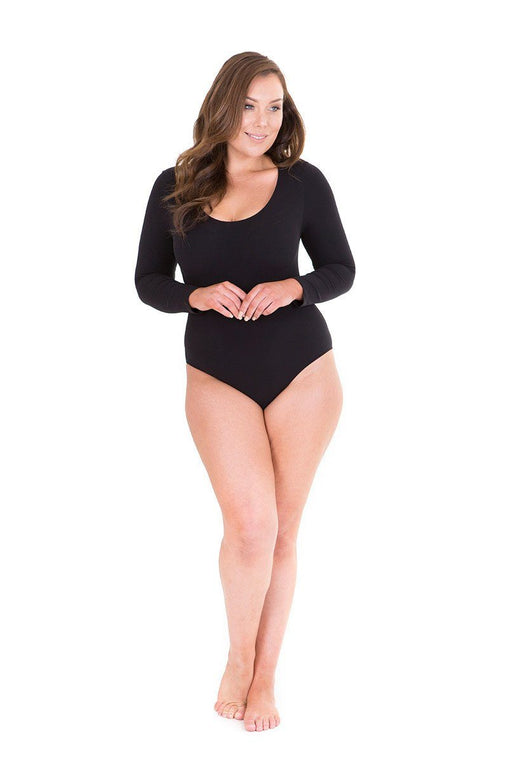 Long Sleeve Bodysuit Plus Size Bodysuit