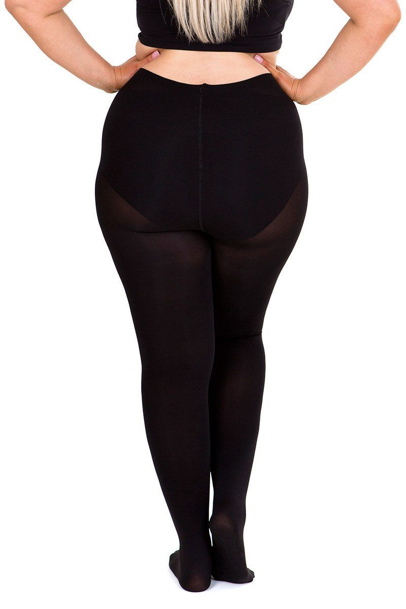 Opaque 100 Denier Full Tights black