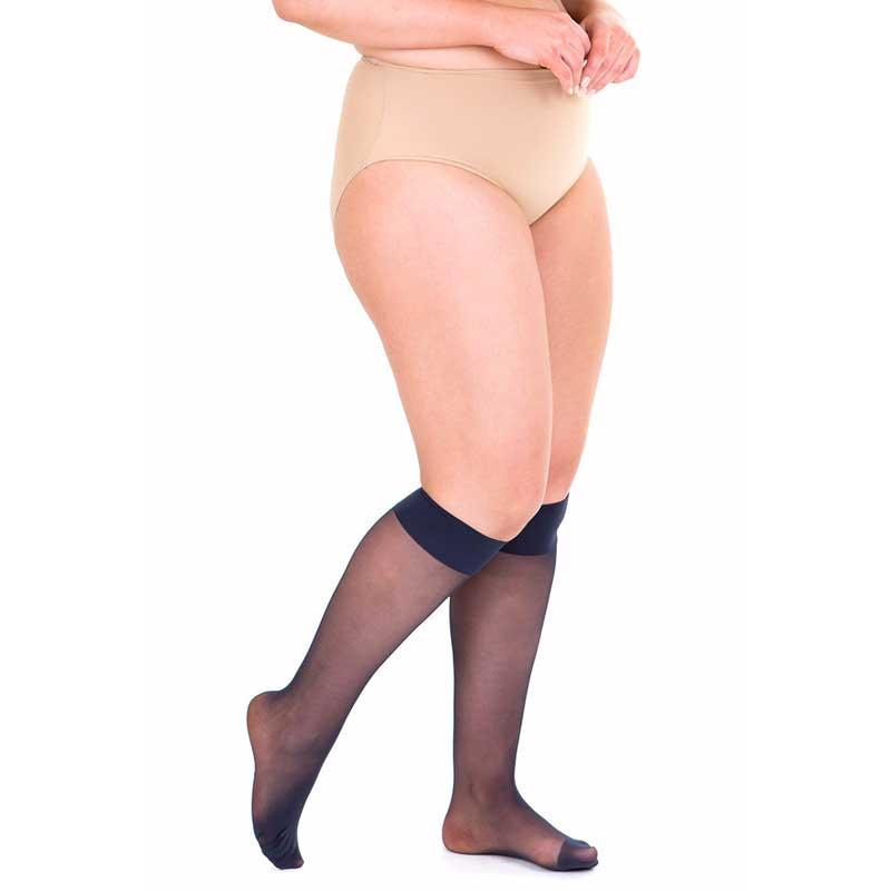 Sheer 40 Denier Knee Highs Hosiery Sonsee