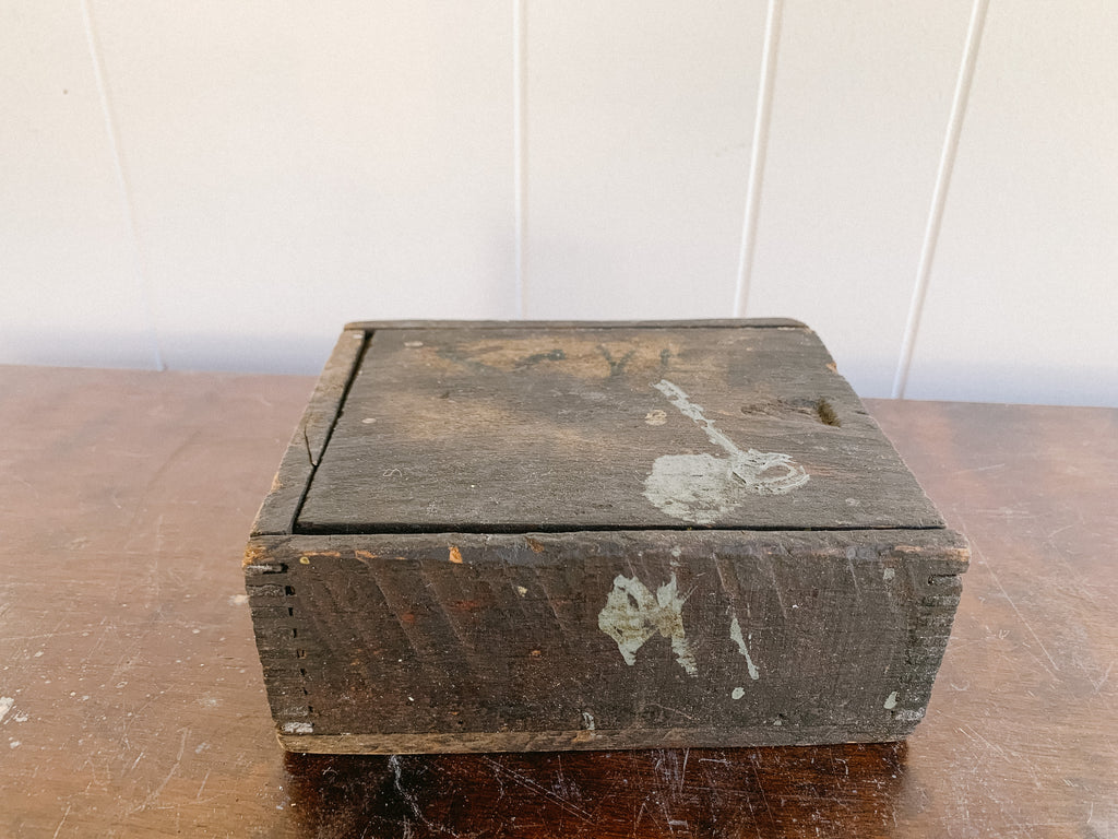 Wooden Box with Top