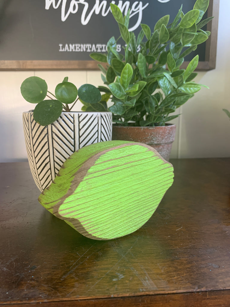 Handmade Wooden Lime