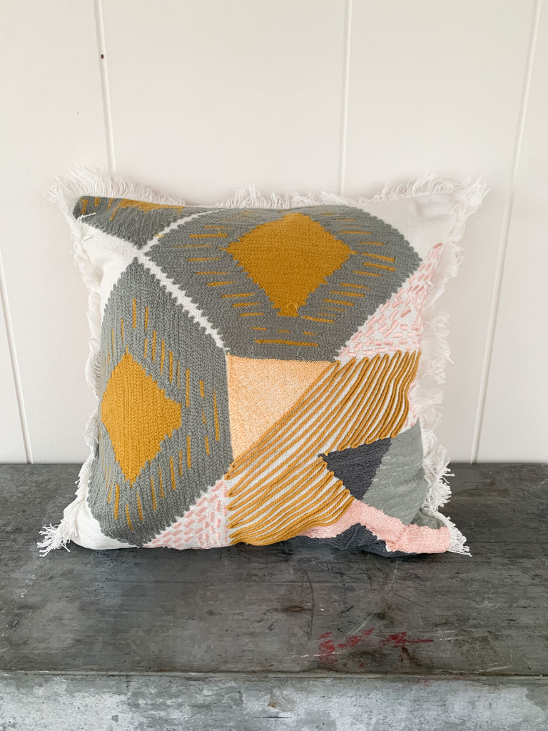 "14"" Geometric Pillow"