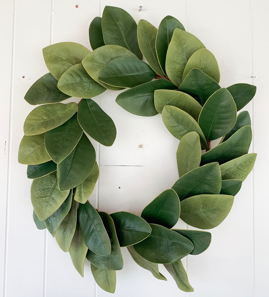 "19"" Magnolia Wreath"