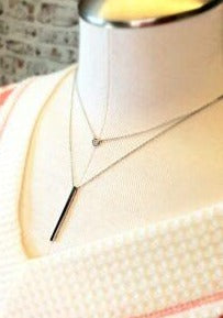 Dainty Doubled Up Necklace