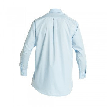 Sky Blue Boys Long Sleeved Classic Shirt