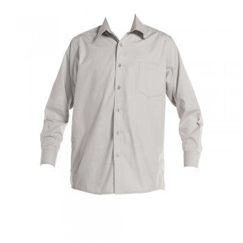 Vic Grey <br>Boys Long Sleeved Classic Shirt