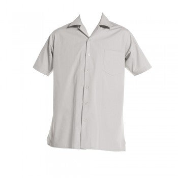 Vic Grey <br>Boys Short Sleeved Open Necked Shirt