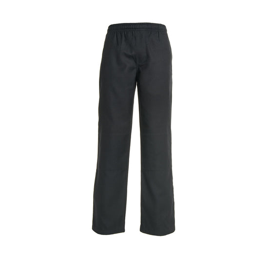 Navy <Br>Boys Elastic Pants - Navy Elastic Pants