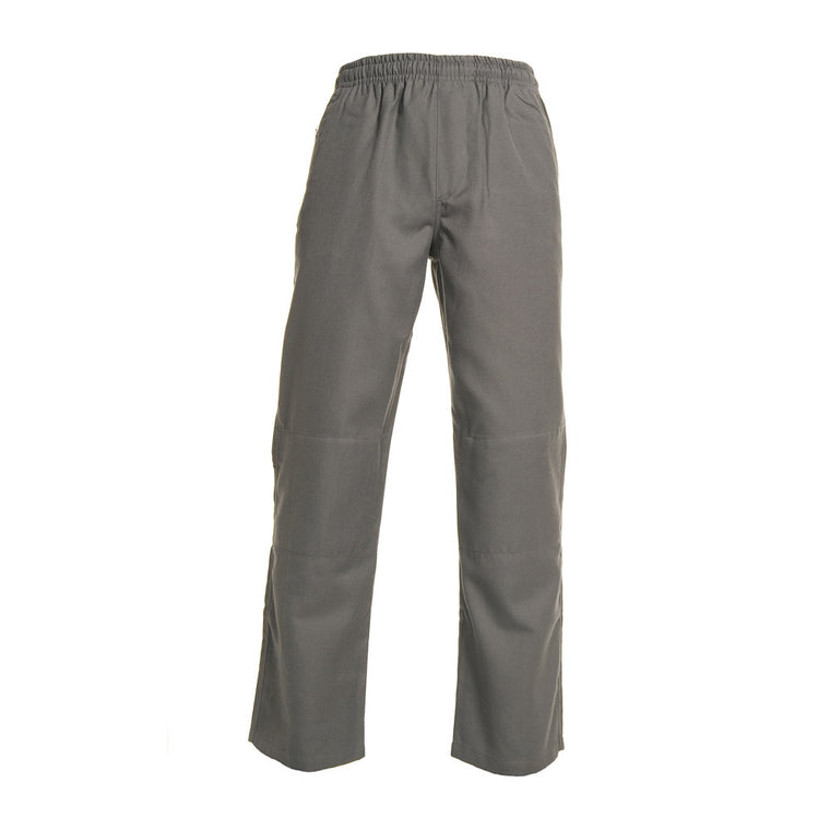 Grey <Br>Boys Elastic Pants - Grey Elastic Pants