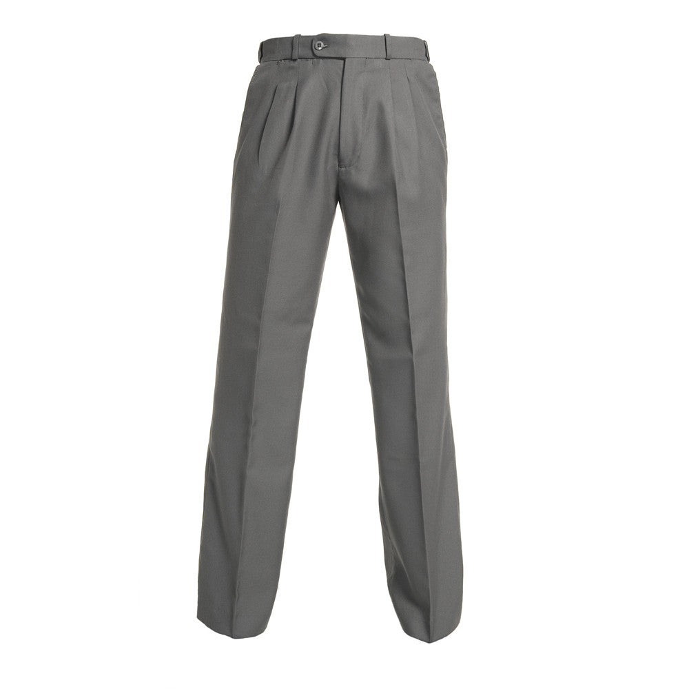 Grey Boys Extendable Waist College Trouser