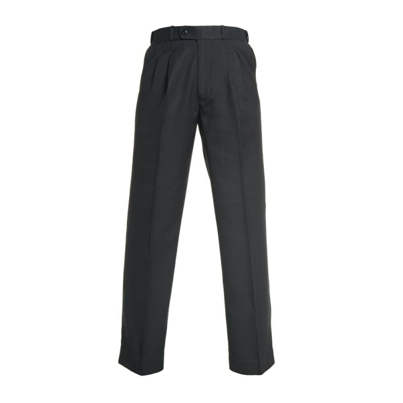 Black Boys Extendable Waist College Trouser