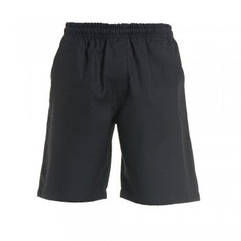 Navy <Br>Boys Elastic Shorts - Navy Elastic Shorts