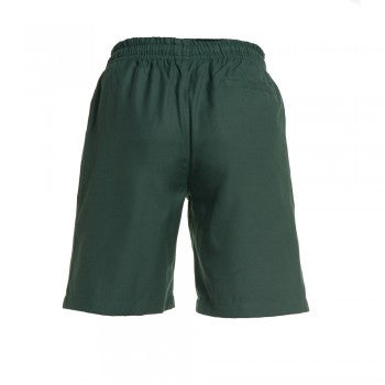 Green <br>Boys Elastic Shorts