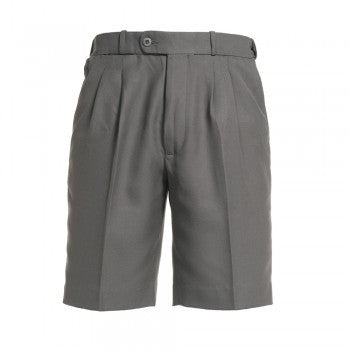 Grey <br>Boys College Shorts