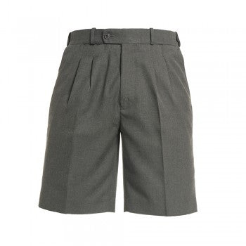 Mid Grey <br>Boys College Shorts