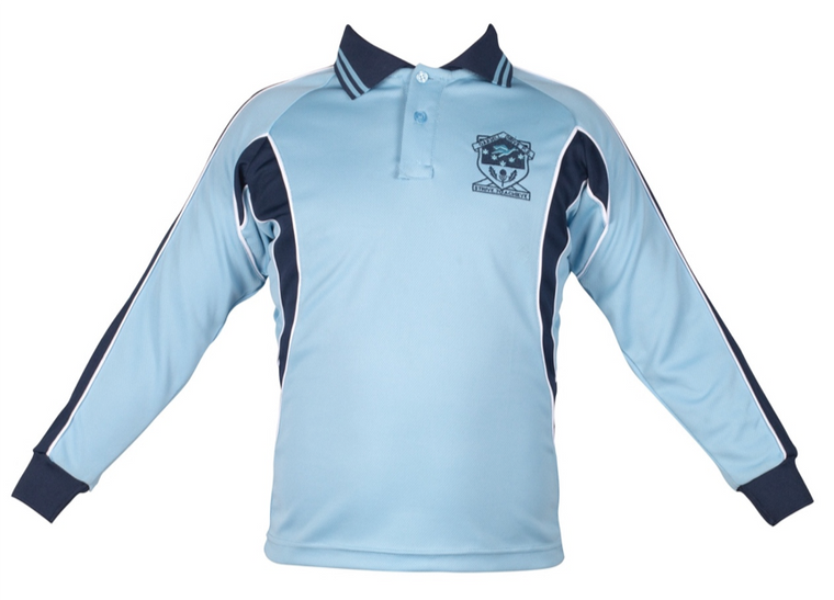 Long Sleeve Sports Polo