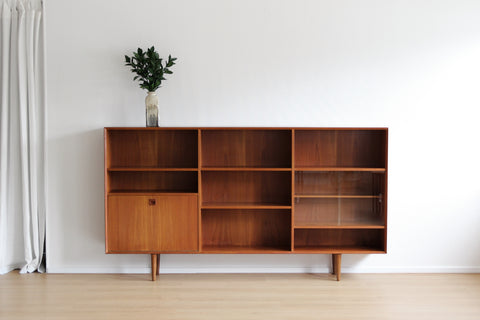 Danish Low Bookcase