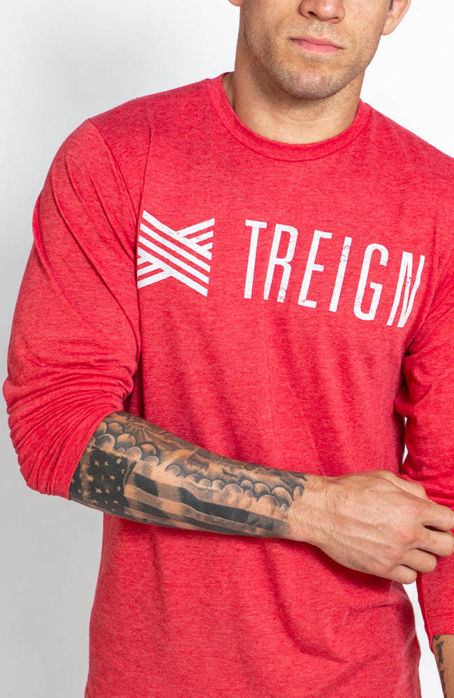 Distressed Long Sleeve
