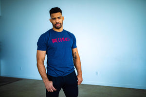 Commit Navy Tee