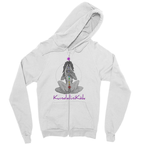 Uni-Sex Zip hoodie (Front and Back Print)