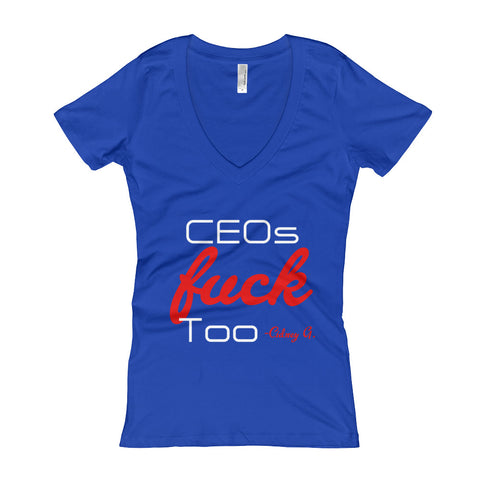 CEO Women's V-Neck T-shirt