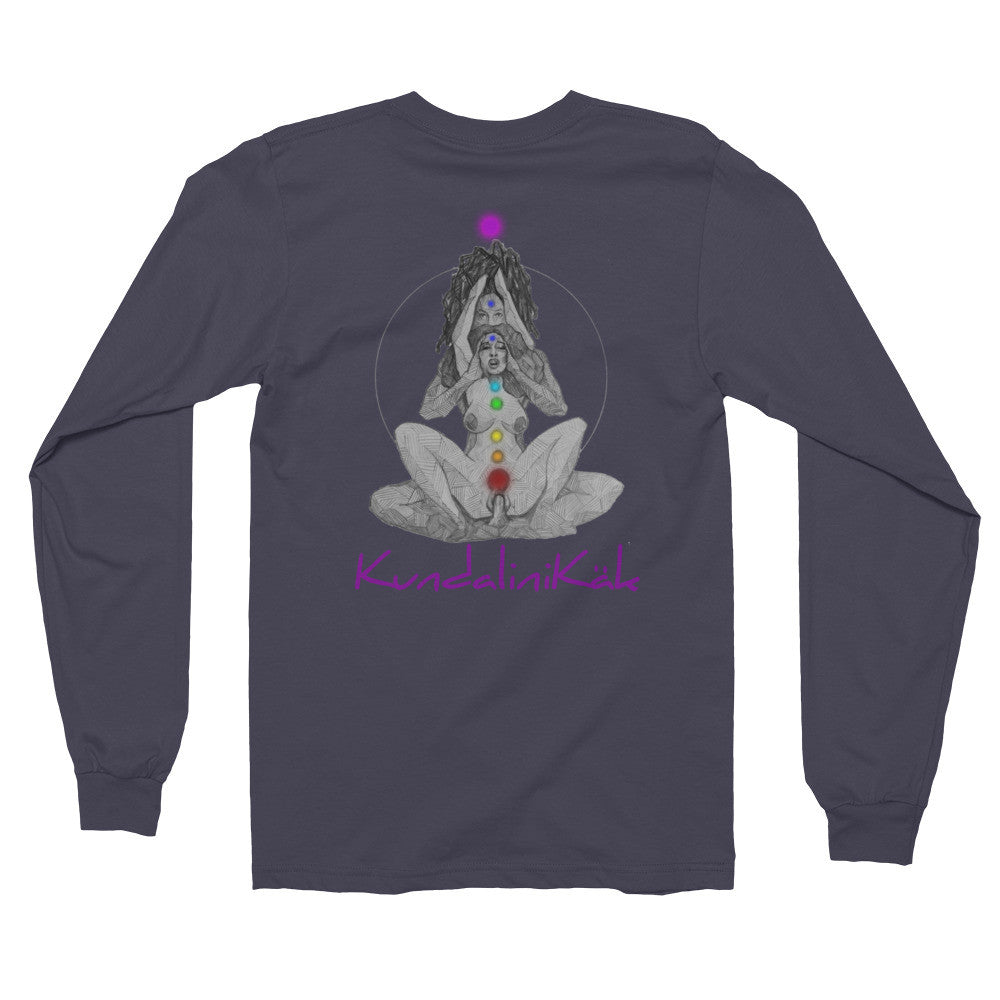 Uni-Sex Long sleeve t-shirt (Front and Back Print)