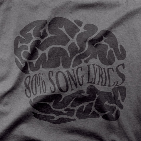 80% Song Lyrics - CD Universe Apparel