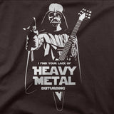 Lack of heavy metal