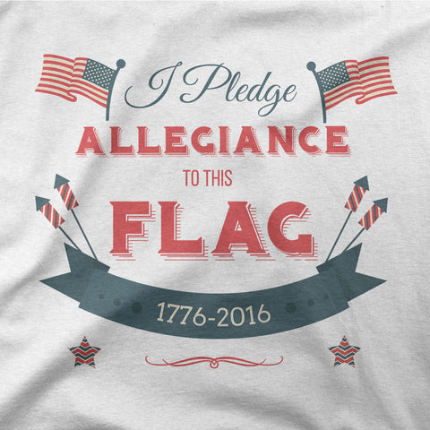 I pledge allegiance to this flag - CD Universe Apparel