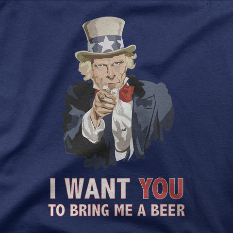 I want you to bring me a beer - CD Universe Apparel