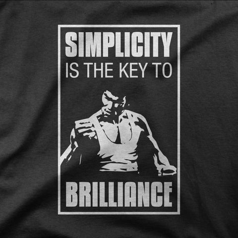 Bruce Lee - Simplicity is the key - CD Universe Apparel