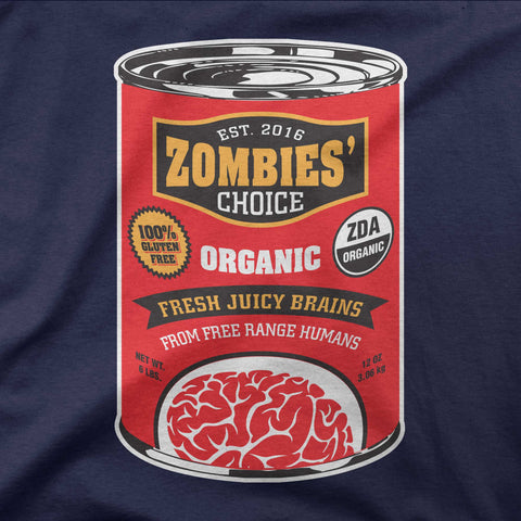 Canned brains - Zombie's choice - CD Universe Apparel