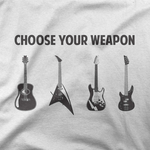 Choose your weapon - CD Universe Apparel