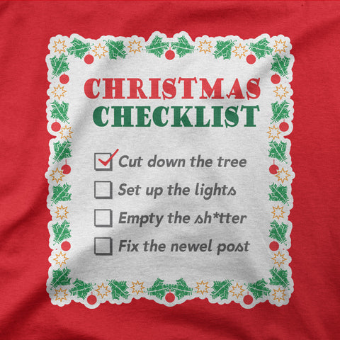 Christmas Checklist - CD Universe Apparel