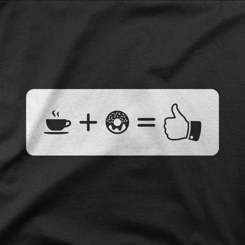 Coffee + Donuts = Good! - CD Universe Apparel