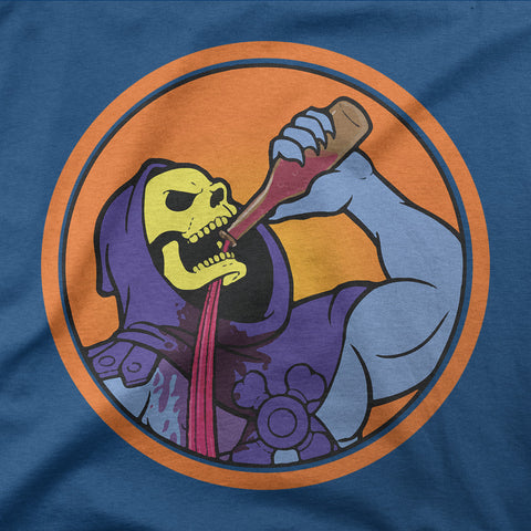 Skeletor drinking problem