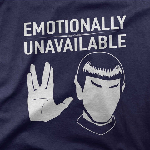 Emotionally unavailable - CD Universe Apparel