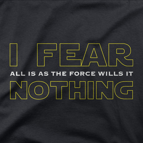 I Fear Nothing - CD Universe Apparel