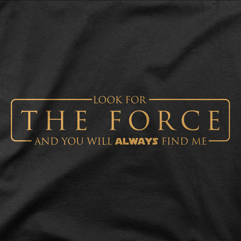 Look for the Force