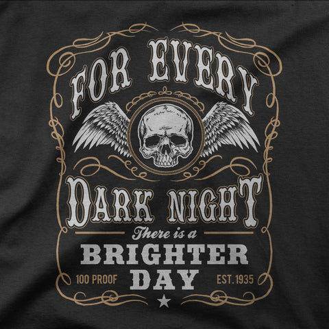For every dark night, there is a brighter day - CD Universe Apparel