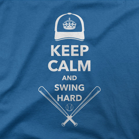 Keep Calm & Swing Hard - CD Universe Apparel