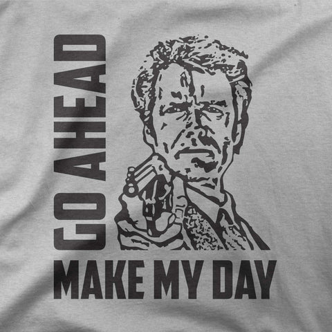 Clint Eastwood - Go ahead, make my day - CD Universe Apparel