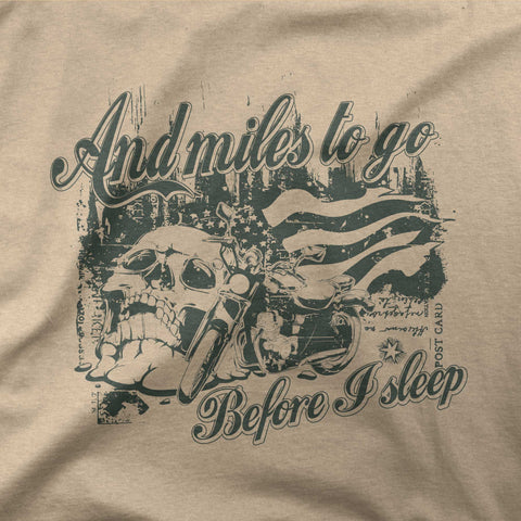And miles to go before i sleep - CD Universe Apparel