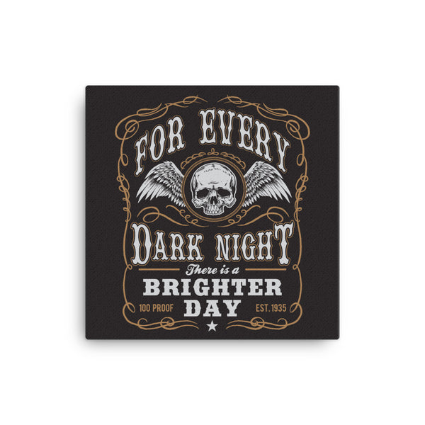 For Every Dark Night Canvas - CD Universe Apparel