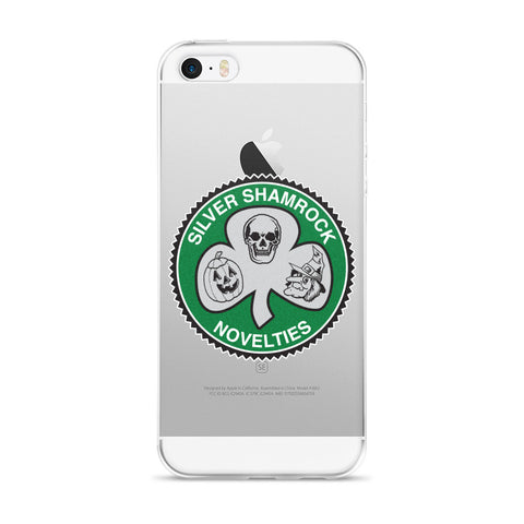 Silver Shamrock Phone Case
