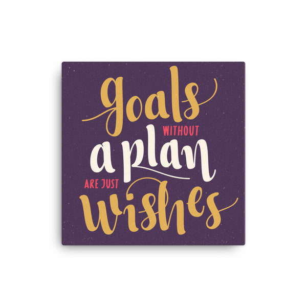 Goals without plans - CD Universe Apparel
